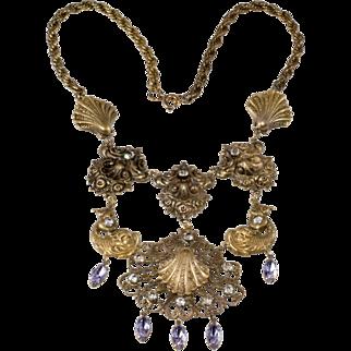 Joseff of Hollywood Venus Tears Bib Necklace