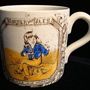 Antique ABC Mug ~ Little Jack Horner 1880