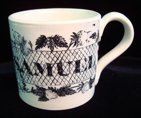 Named Child's Mug ~ SAMUEL ~ Florist 1830