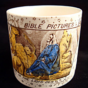 ABC Mug ~ Bible ~ Daniel in the Lion's Den 1880