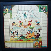 Framed Game Board ~ Google and SPARK PLUG 1923