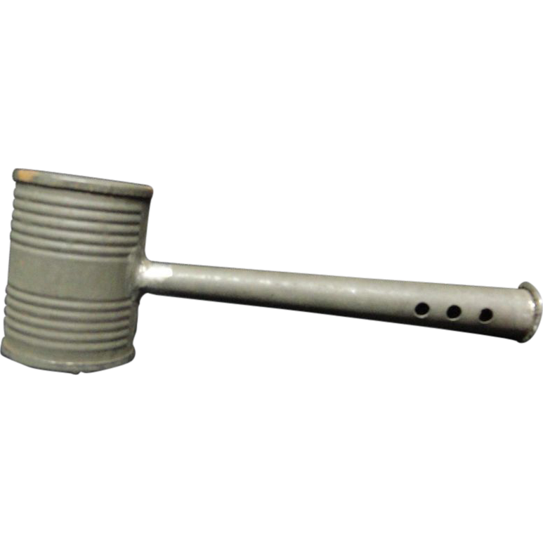 Civil War Tin Whistle Rattle 1860