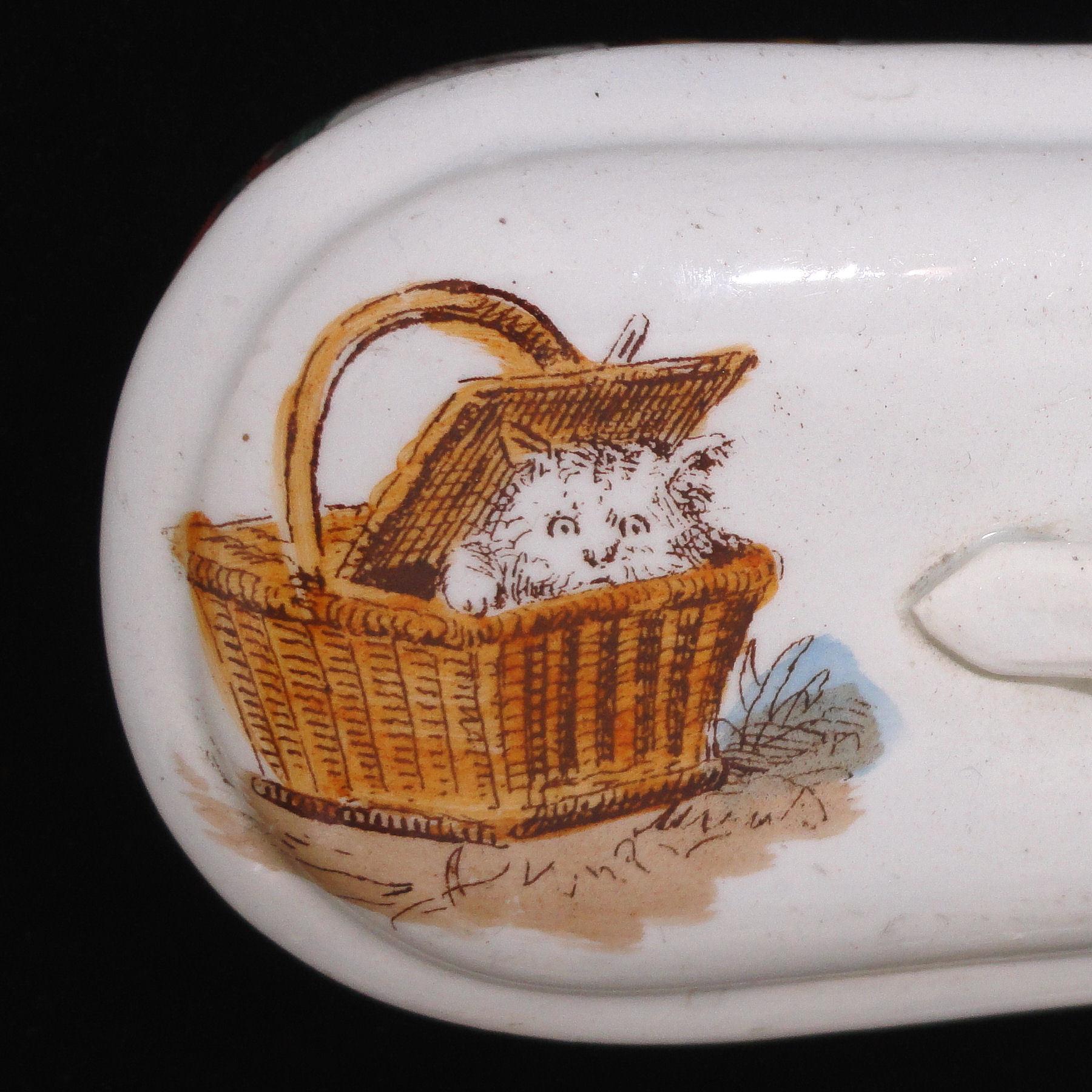 creil montereau lavabo bebe childs chamber toilette set 1880