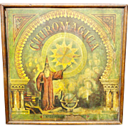 Antique 1870 Magical Wizard Chiromagica Game Box