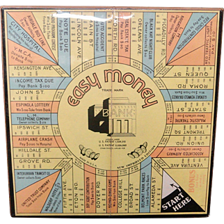 BANKING ~ Easy Money $$ Game ~ 1935