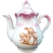 Kewpie Rose O'Neill Childs Teapot RS Prussia 1915 for Dolls Tea Party