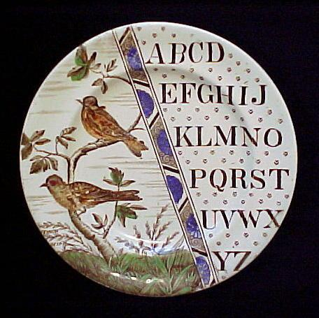 ABC Plate ~ Haffinch & Goldfinch