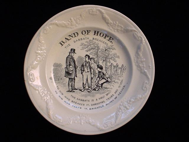 Pearlware Band of Hope ~ Sabbath Breakers 1850