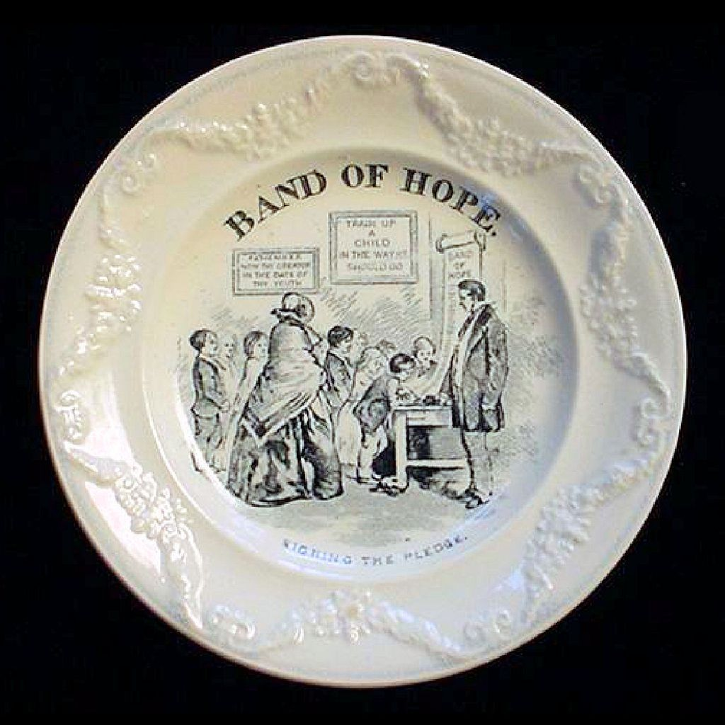 Pearlware Band of Hope ~ Signing 1850