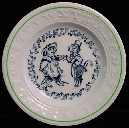 EXC Double ABC Plate ~ CATS ~ Sign Language