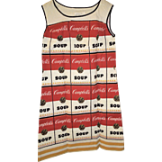 1967-68 Souper Dress, Campbell Soup/Andy Warhol