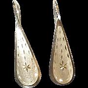 Vintage 14K Earrings