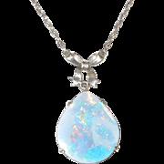 Fabulous Color Opal Necklace