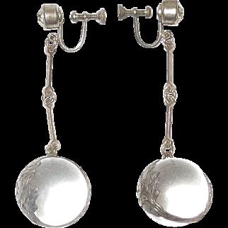 Vintage Pools of Light Earrings