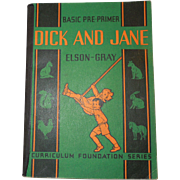 Early Soft Bound Elson Gray Dick and Jane Pre Primer