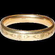 Victorian Gold Filled Bracelet/Bangle