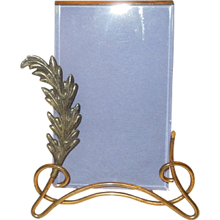 Art Nouveau Standing Photo or Picture Easel Frame