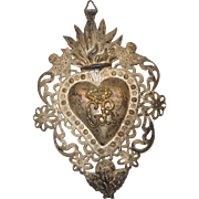 Antique C. 1900 Ex Voto