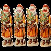 c 1900-1920's Santa Claus Die Cut Germany