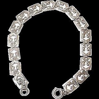 Vintage Banecraft Sterling Silver Bracelet