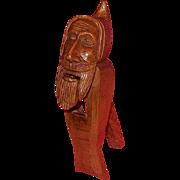 C. 1900 Hand Carved German Nutcracker