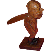 C. 1920-30's German Hand Carved Nutcracker