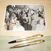 1950's-60's Floaty Pen and Pencil S.S. Lurline