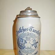 X. Deutsches Turnfest Nurnberg 1903 Beer Stein