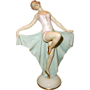 1940's-50's  Alka Bavaria Porcelain Art Deco Figurine - Red Tag Sale Item