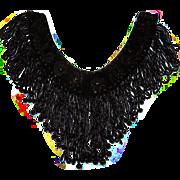 Victorian Beaded Collar