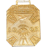 100th Anniversary Independent Order of Odd Fellows Medallion