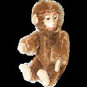 """3 1/2"""" Schuco Tin Face Monkey"""