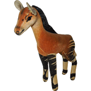 Vintage Steiff Okapi Smallest Size