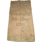 1929 European Grain Sack/Feed Sack