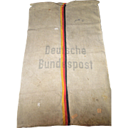 Vintage German Mail Bag - Deutsche Bundespost
