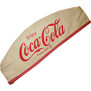 Vintage Coca Cola Soda Jerk Hat