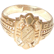 Victorian Gold Filled Ring Size 7 1/2