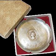 Queen Elizabeth Silver Jubilee Pin Dish