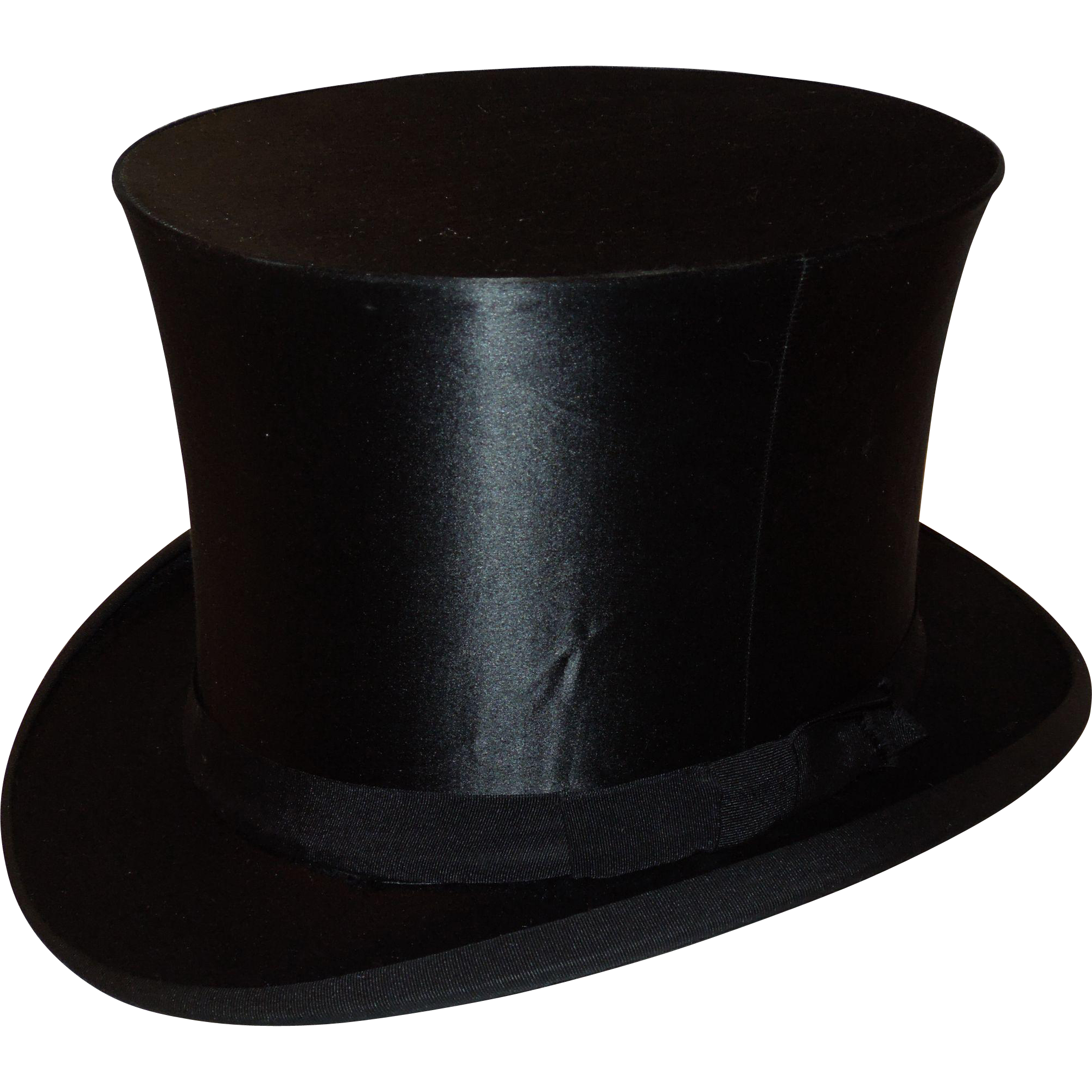 Antique Silk Collapsible Top Hat From Chippewalakeantiques