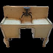 Dollhouse Henry Katz Tin Playhouse Sink No. 41
