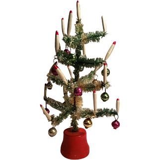 Nice Miniature Decorated Christmas Tree For Your Dollhouse