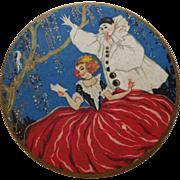 Sweet Vintage Pierrot Vanity Box Made in France