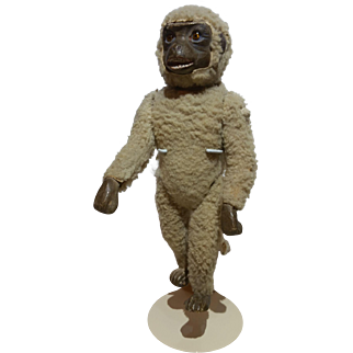 Early Monkey Candy Container
