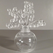 Lalique Clairefontaine Perfume Bottle - Lily of the Valley Design - Red Tag Sale Item