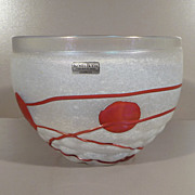 Bertil Vallien Galaxy Series Bowl - Kosta Boda Artist Collection