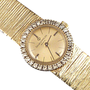 Baume & Mercier 14k Gold and Diamond Ladies Watch