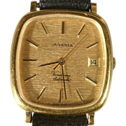 Juvenia Vendôme Automatic Wristwatch - Unusual Goldplated