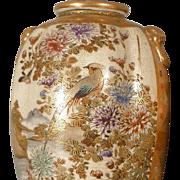 Japanese Satsuma Vases Mirror Image Pair - Taisho/Showa Era