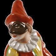 Ginori Italian Figure of Pulcinella - Porcelain - 1896-1925 Mark