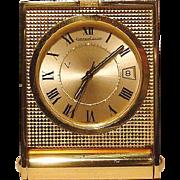 Jaeger LeCoultre Memovox Travel Alarm Clock - 1970s